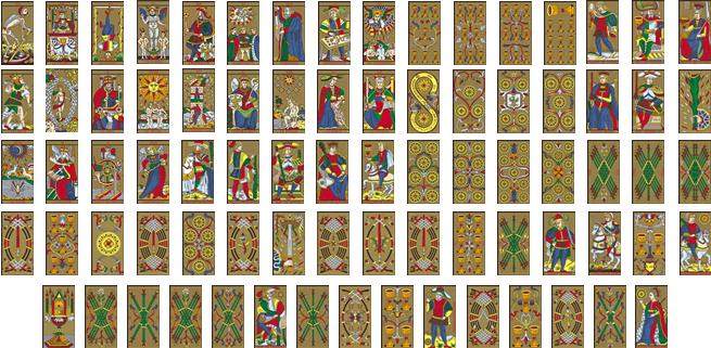 Tarot de Marsella : Los orígenes